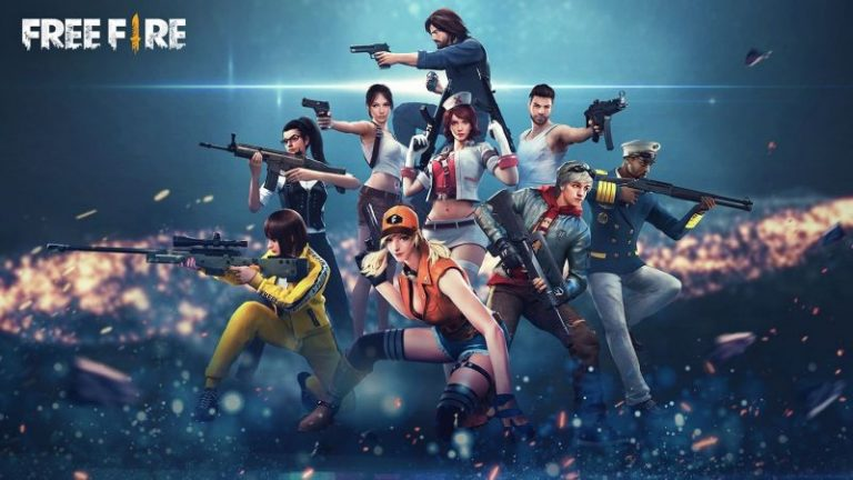 personagens do Free Fire